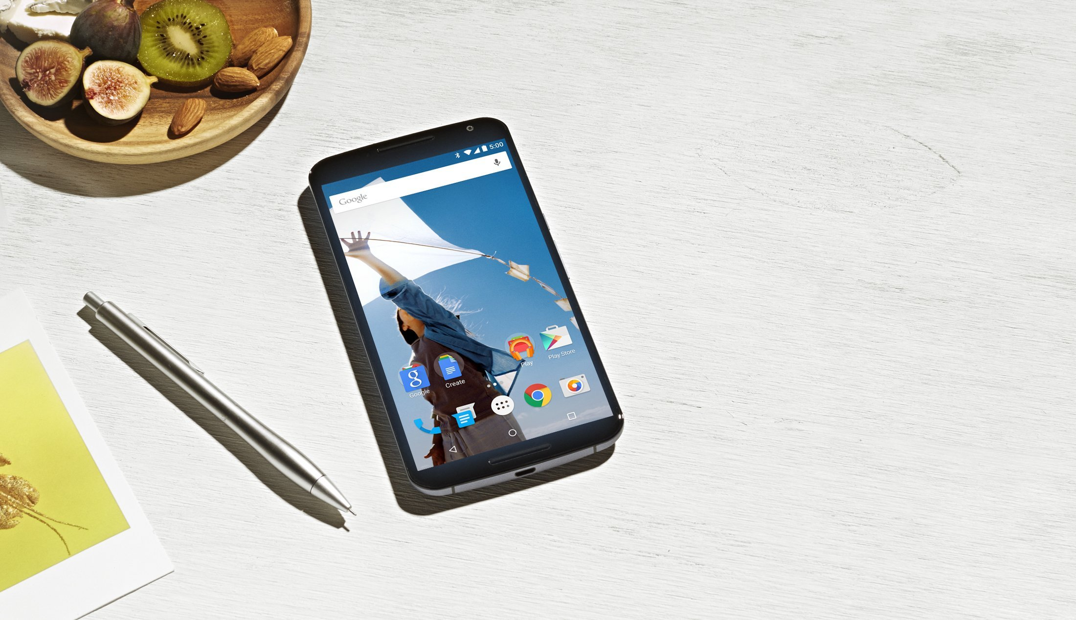 D'après Google, la taille du Nexus 6 correspond aux futures attentes des utilisateurs