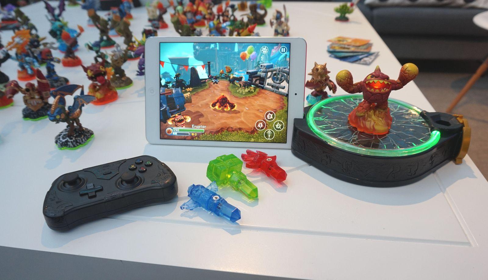 Skylanders Trap Team : on a joué à la version mobile