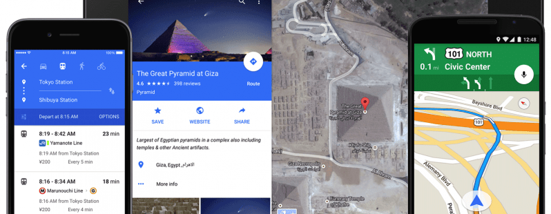 Google Maps 9.0 : adoption de Material Design sur Android et iOS