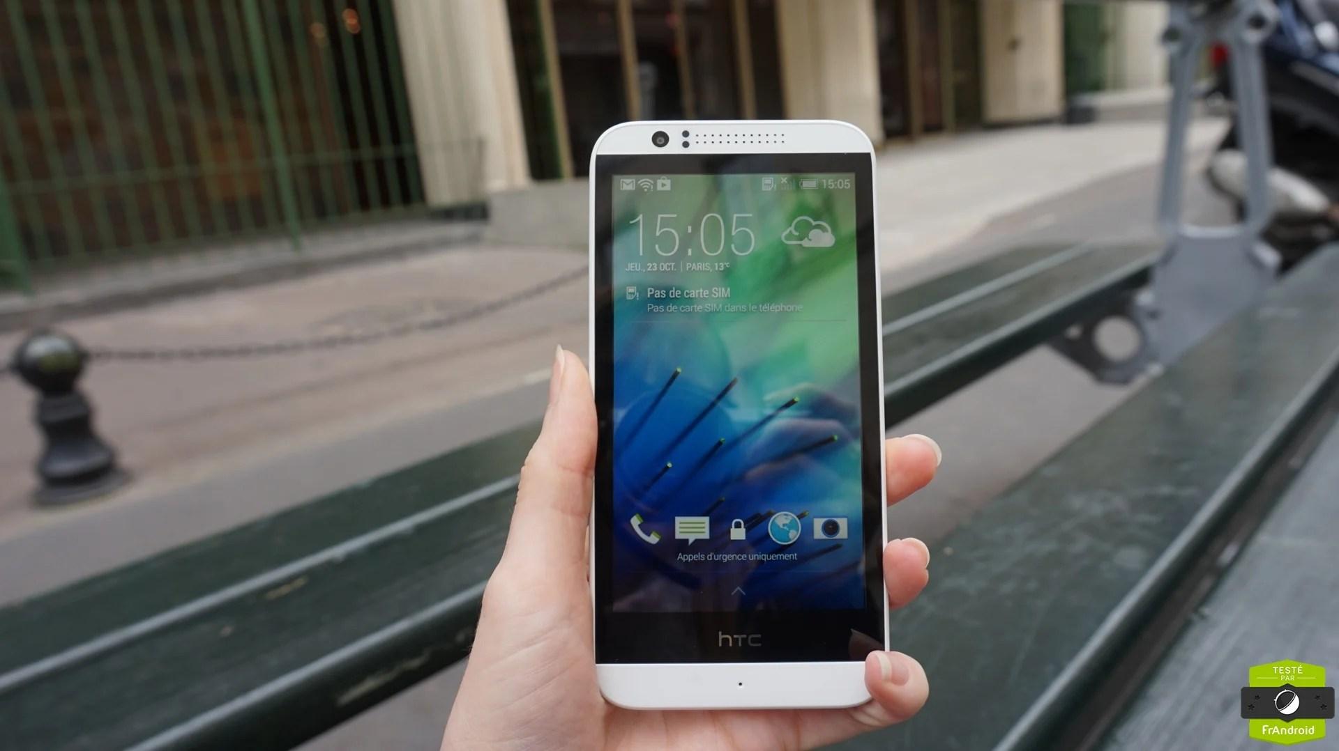 Prise en main du HTC Desire 510 : 4G et 64 bits pour moins de 200 euros