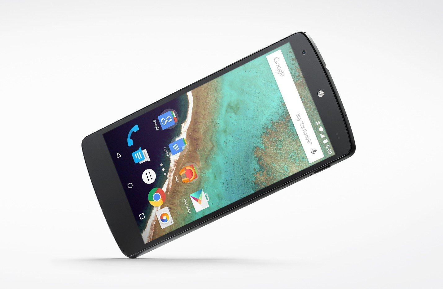 Le Nexus 5 sous Lollipop est plus performant dans les benchmarks que sous KitKat