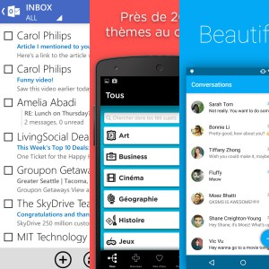 Les apps de la semaine : Bloc-Notes +, Outlook.com, QK SMS, Facebook Groups