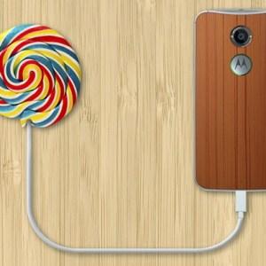 Motorola déploie aussi Android 5.0 Lollipop