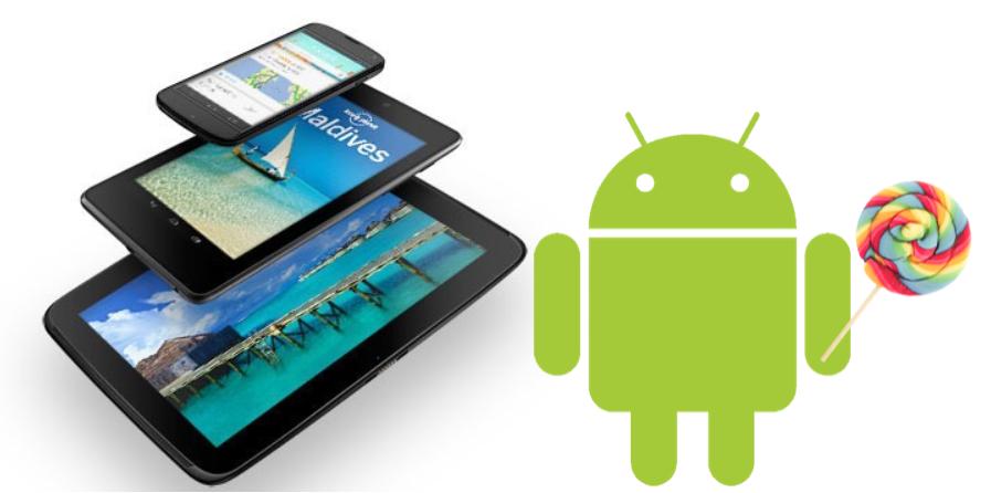 Nexus 4, Nexus 5, Nexus 7 et Nexus 10 : Android 5.0 Lollipop dans les prochaines heures