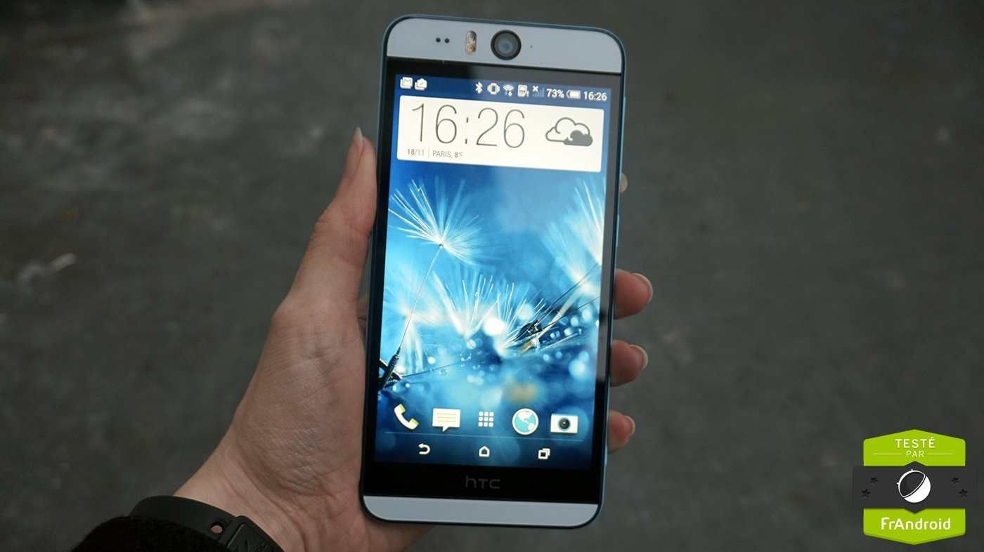 Test du HTC Desire Eye, le selfiephone par excellence
