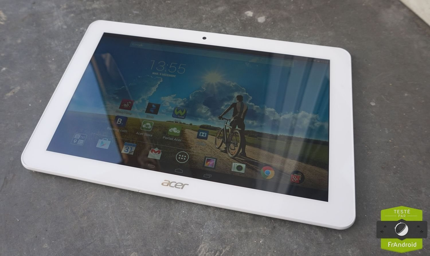 Test de la tablette Acer Iconia Tab 10 (A3-A20 FHD)