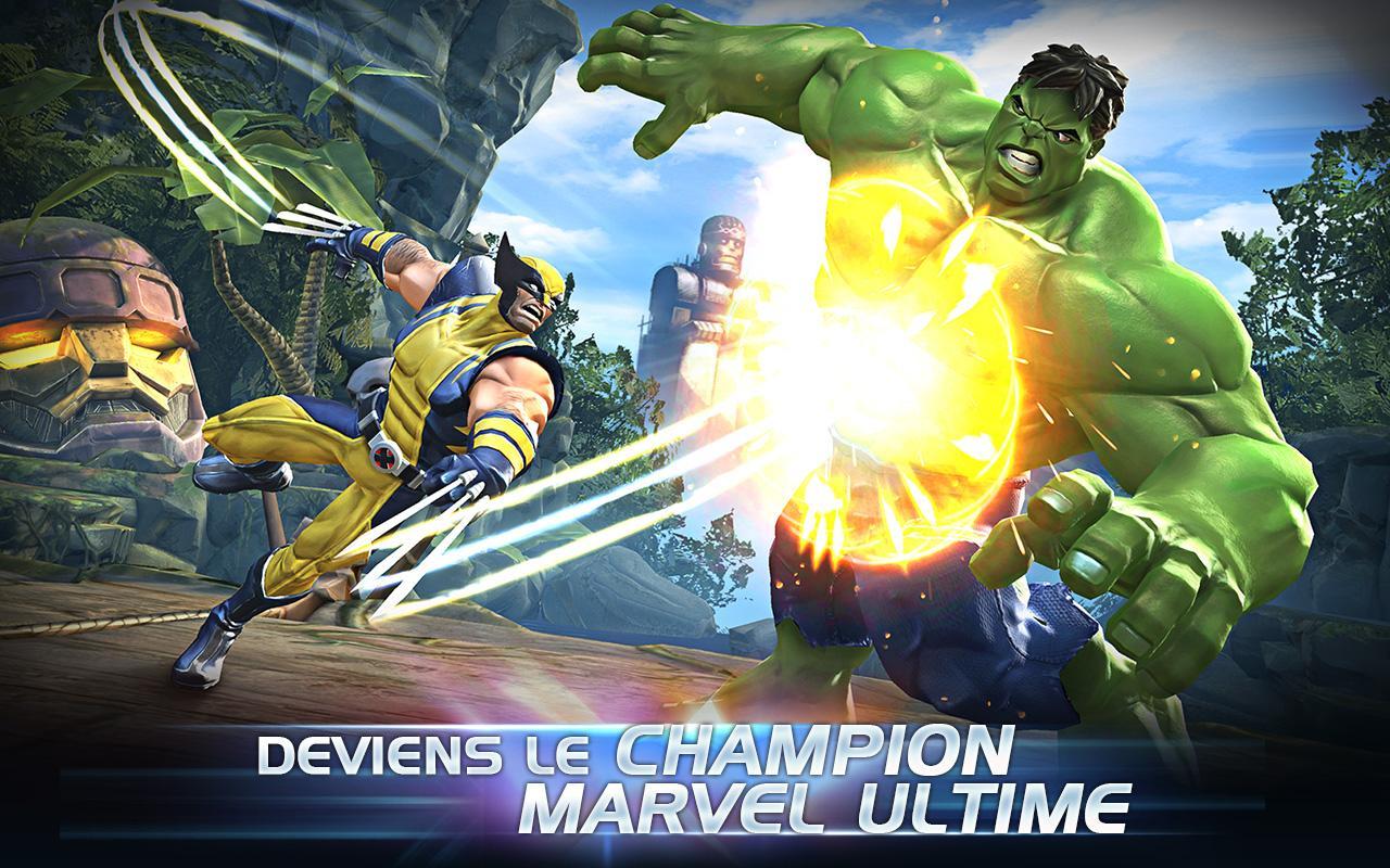 Marvel Tournoi des Champions est une bonne tentative de porter les jeux de combat sur Android…