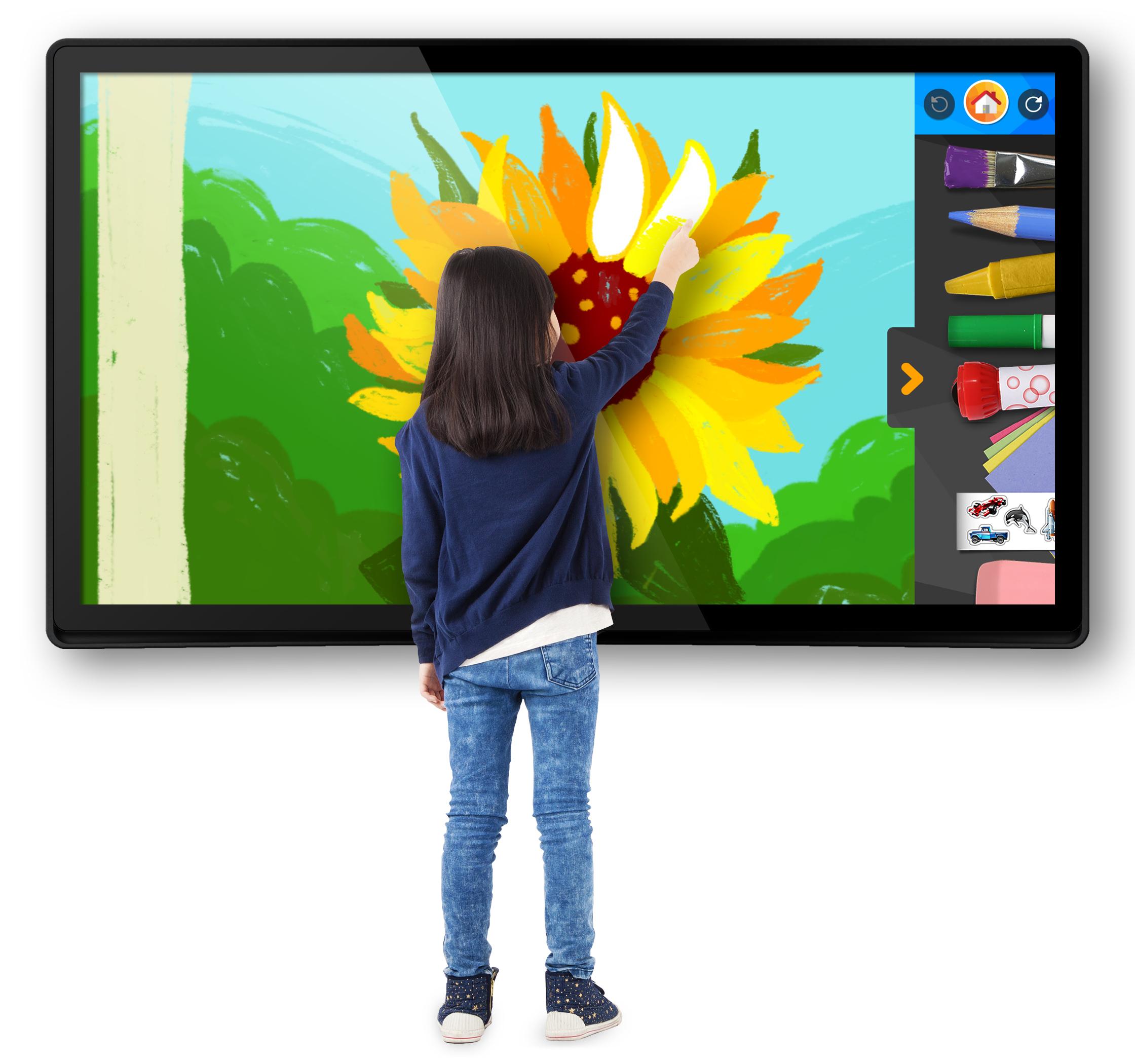 Une tablette Android de 65 pouces (!) chez Fuhu