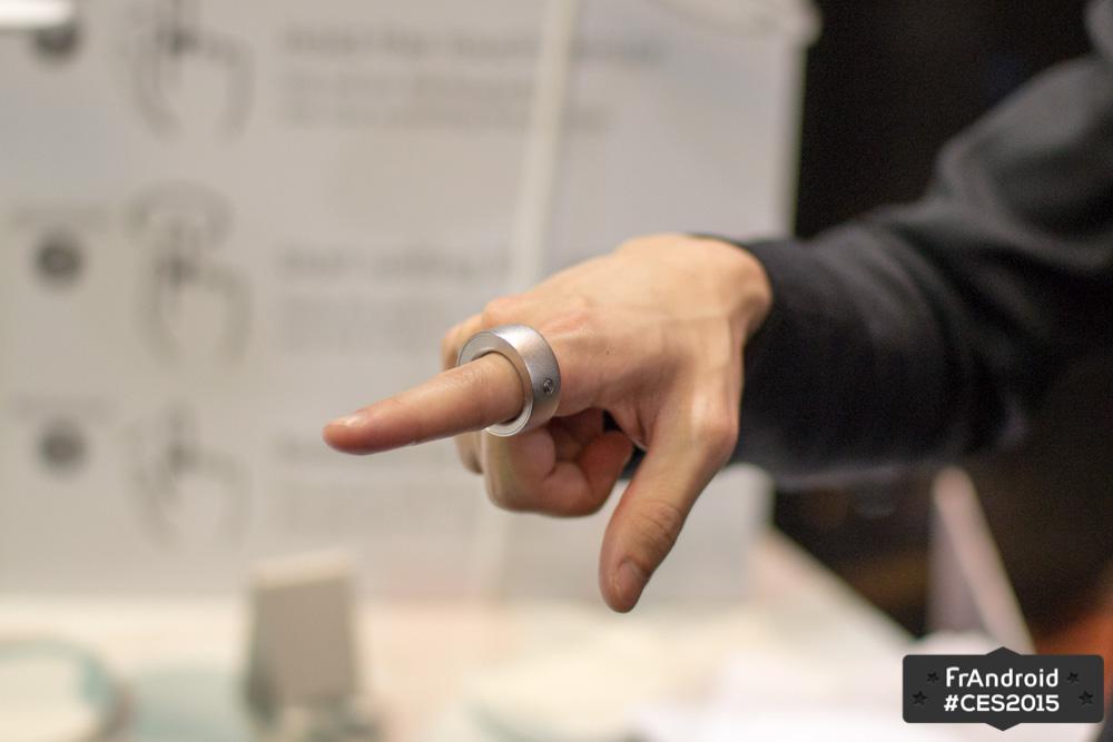 Logbar Ring : l'anneau connecté qui ne passe pas inaperçu