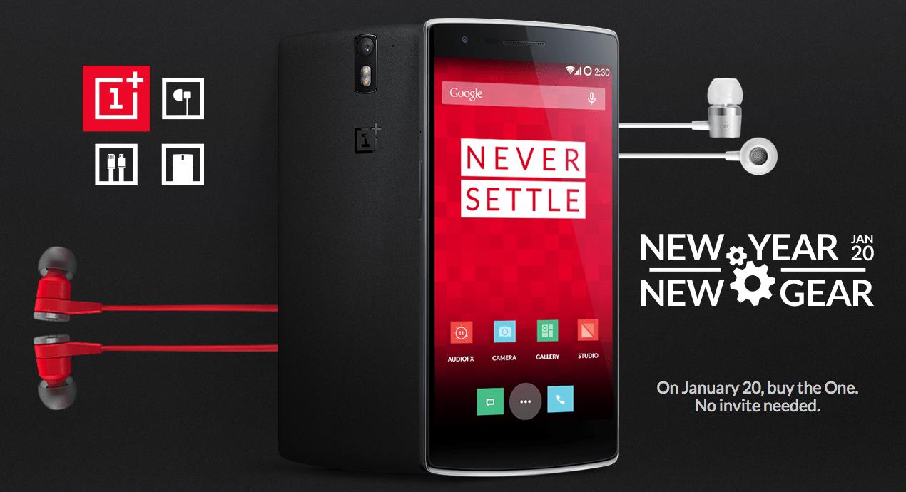 Le OnePlus One disponible sans invitation demain pendant 2 heures