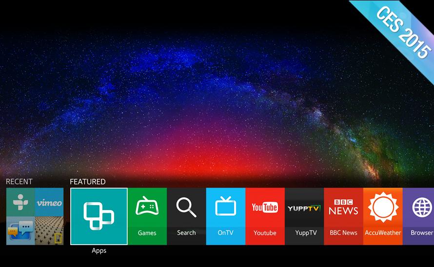 Samsung va mettre Tizen dans tous ses téléviseurs