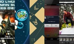 Les apps de la semaine : N.O.V.A 3, Hubble Bubbles, ULTRAFLOW, Popup Notifier Free et Adobe Photoshop Express