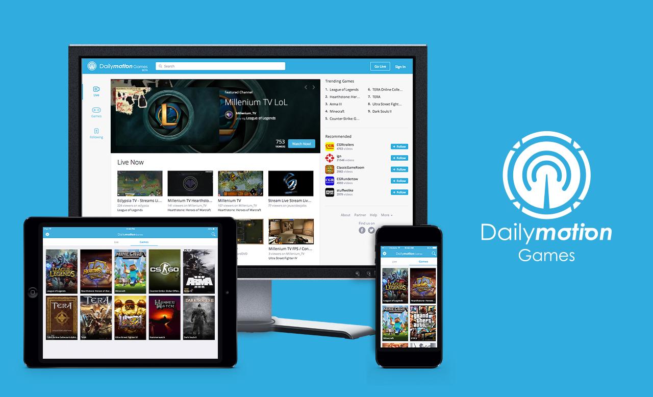 Dailymotion Games : Dailymotion se lance dans le streaming de vidéo de jeux vidéo