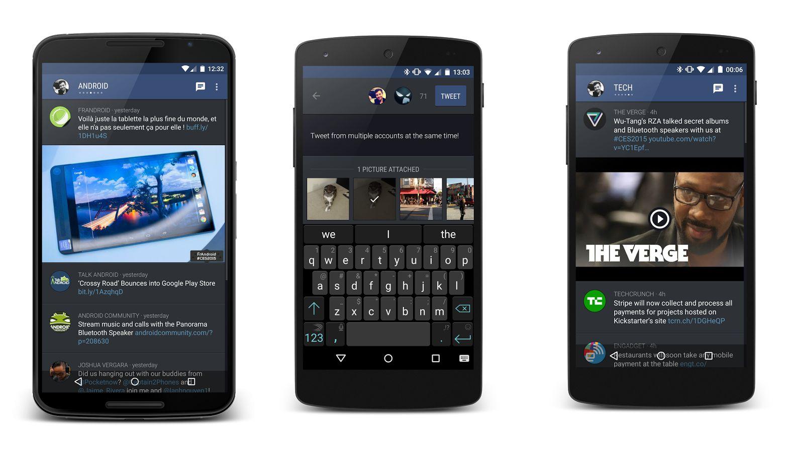 Falcon Pro III, l'un des meilleurs client Twitter d'Android, est à nouveau disponible sur le Play Store