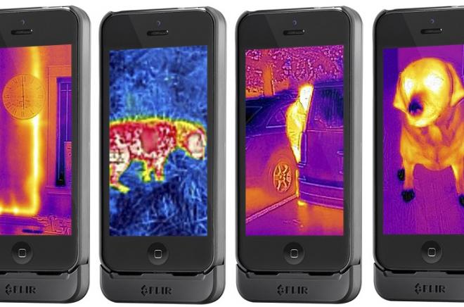 FLIR One : un module de vision thermique pour smartphones Android