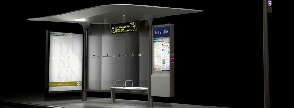 Les prochains abribus de Paris disposeront de ports USB pour recharger les smartphones