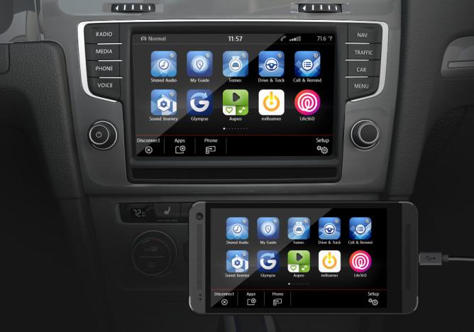 Volkswagen : des voitures équipées d'Android Auto et d'Apple CarPlay