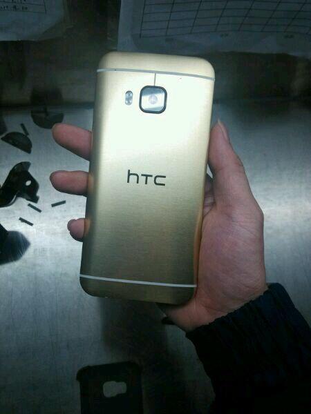 Le design du HTC One M9 se confirme peu à peu, sans double capteur photo