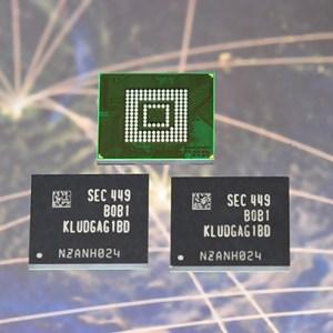 Samsung débute la production de masse de la mémoire UFS 2.0 en 32, 64 et 128 Go
