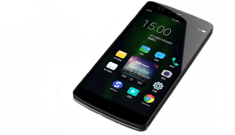 Manta 7X : le premier smartphone sans bouton physique se dévoile