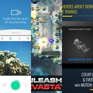 Les apps de la semaine : Solo Launcher, LINE SnapMovie, Sentinel 4: Dark Star, 7 Minute Superhero Workout et Banjo
