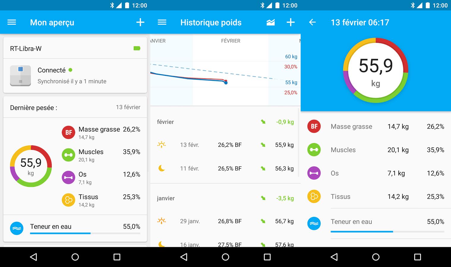 La balance connectée Runtastic Libra est désormais compatible avec Android