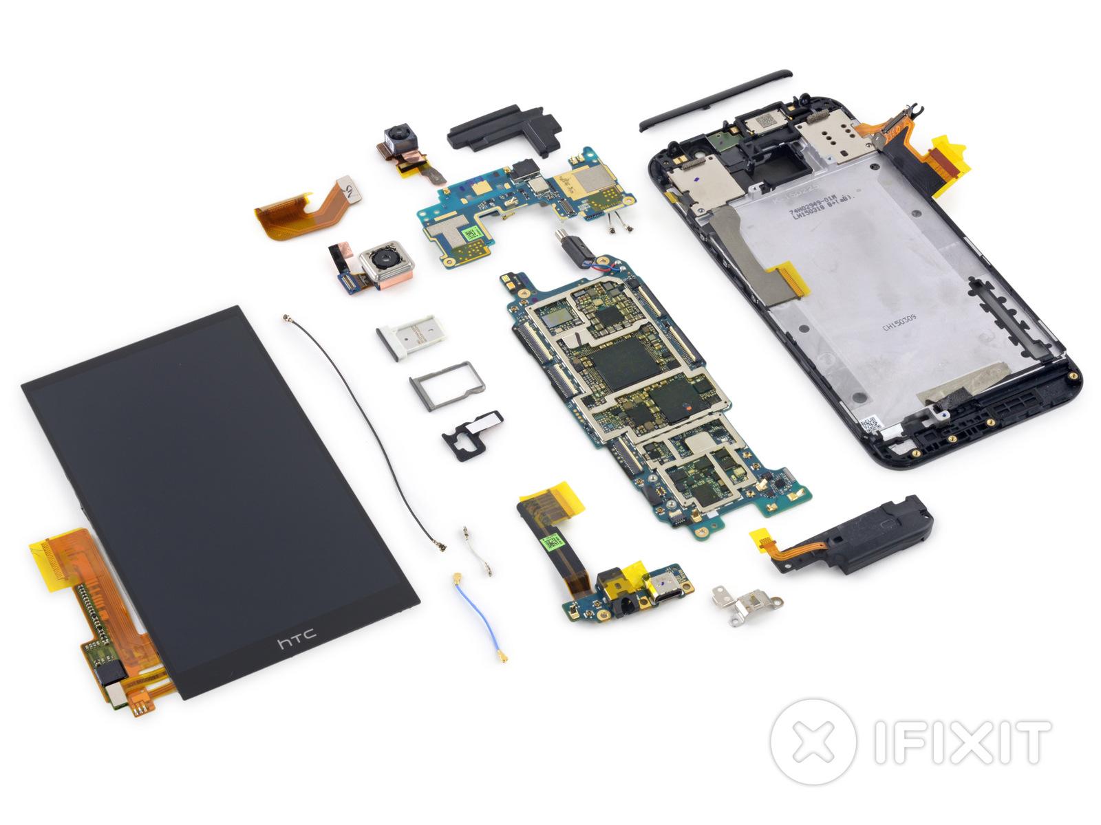 HTC One M9 : ce n'est pas beau à l'intérieur