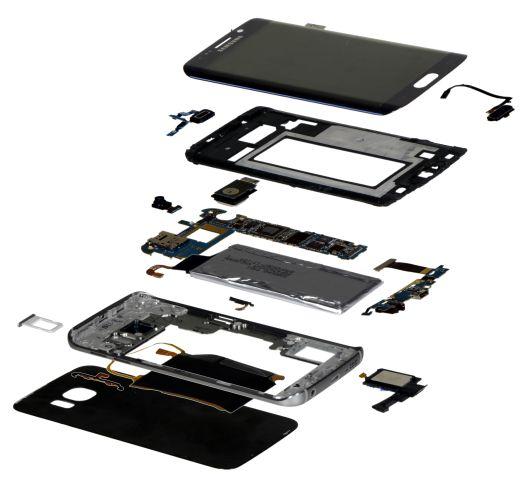Samsung Galaxy S6 edge : 272 euros à construire