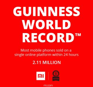 Xiaomi se fraie une place dans le Guinness des Records