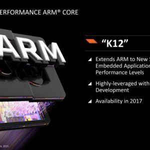 K12 : le cœur ARM d'AMD finalement en retard ?