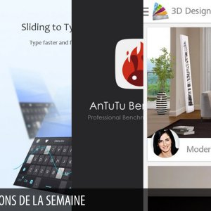 Les apps de la semaine : RAR for Android, GO Clavier, AnTuTu Benchmark, Homestyler Interior Design, All-In-One Toolbox (Cleaner)