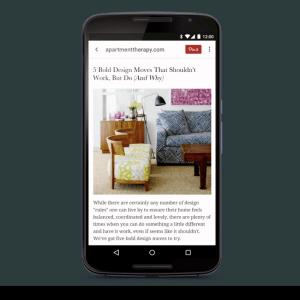 Pinterest s'offre Instapaper pour améliorer ses services