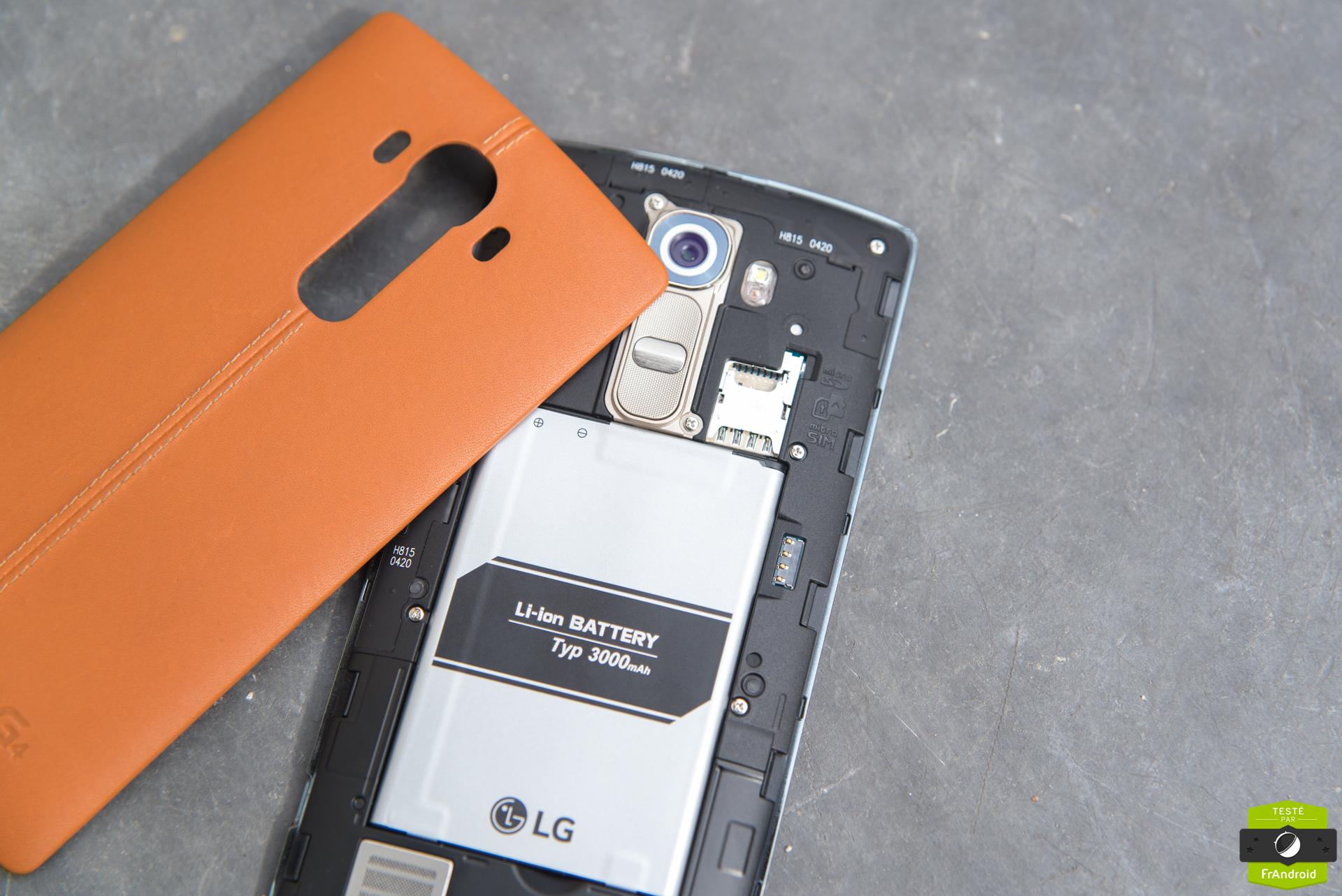 LGG5 : une étonnante batterie amovible en préparation ?