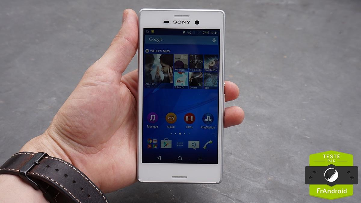 Test Sony Xperia M4 Aqua : un milieu de gamme des plus classiques