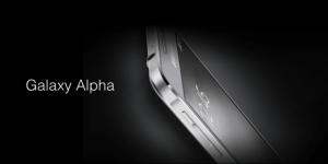 Bon plan : Le Samsung Galaxy Alpha est à 339,90 euros avec 75 euros de bons d'achats