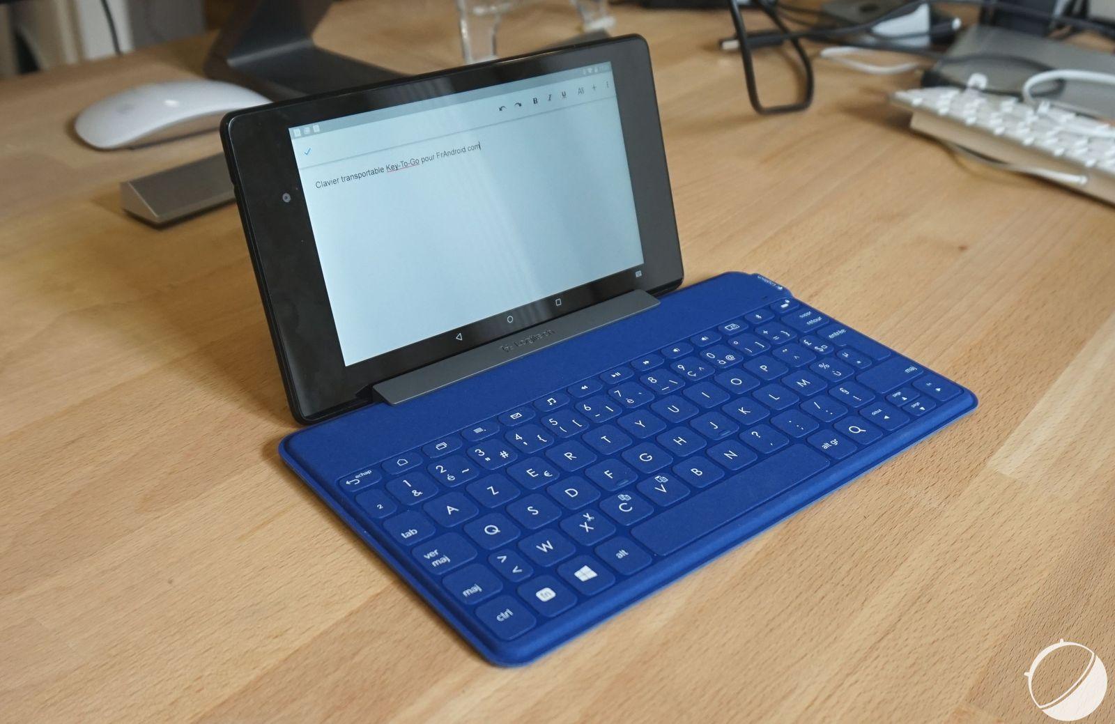 Test du clavier Logitech Key-To-Go : le clavier transportable et tout terrain