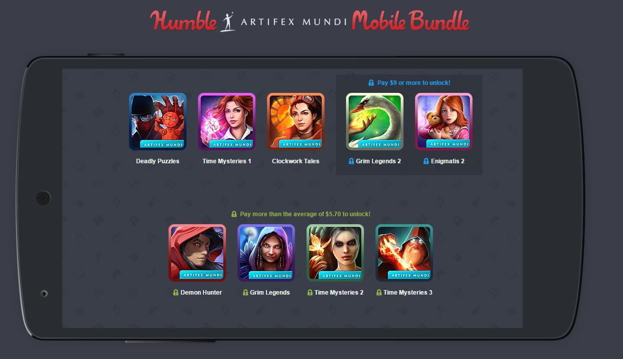 Humble Mobile Bundle : le plein de jeux d'aventures