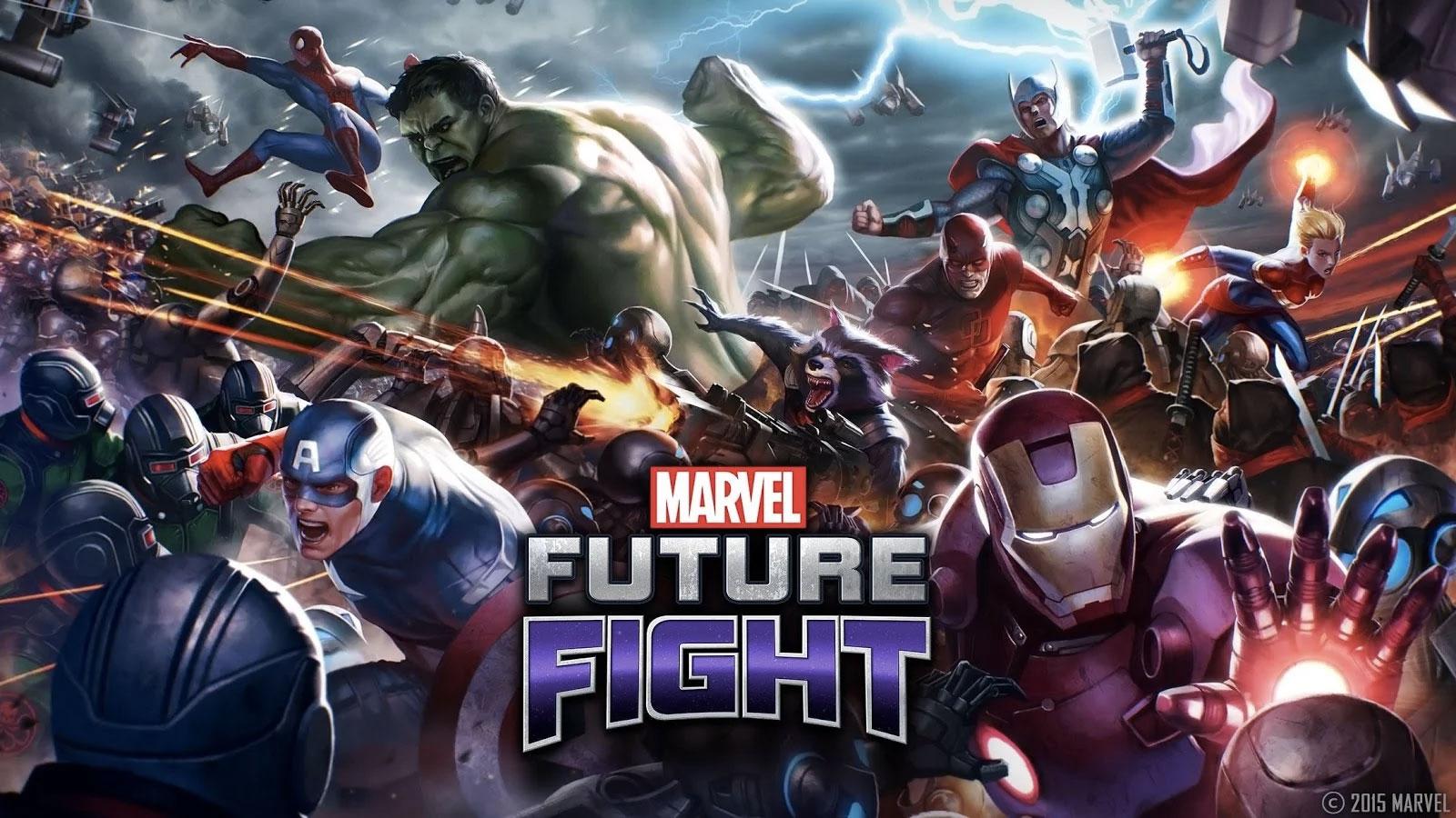 Marvel Future Fight : des super-héros pour sauver le monde