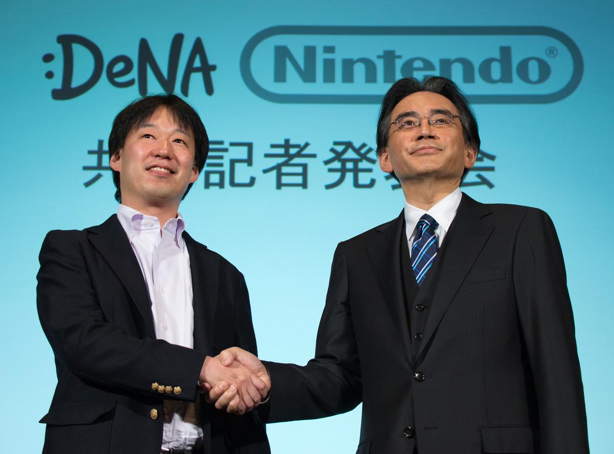 DeNA confirme le modèle économique des jeux développés pour Nintendo