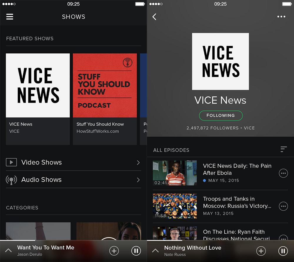 Spotify : le streaming vidéo arrive cette semaine