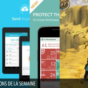 Les apps de la semaine : Sleep Better with Runtastic, Send Anywhere, MyPermissions – Privacy Shield, Lara Croft : Relic Run, QuizUp