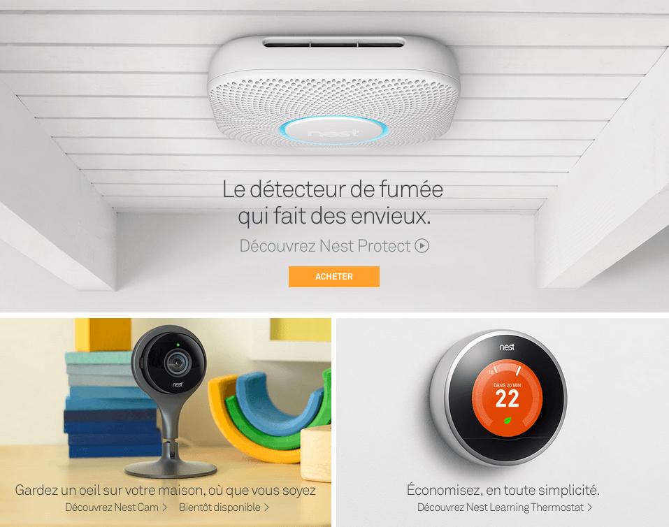 Nest renouvelle son détecteur de fumée et dévoile la Cam, une caméra de vidéosurveillance