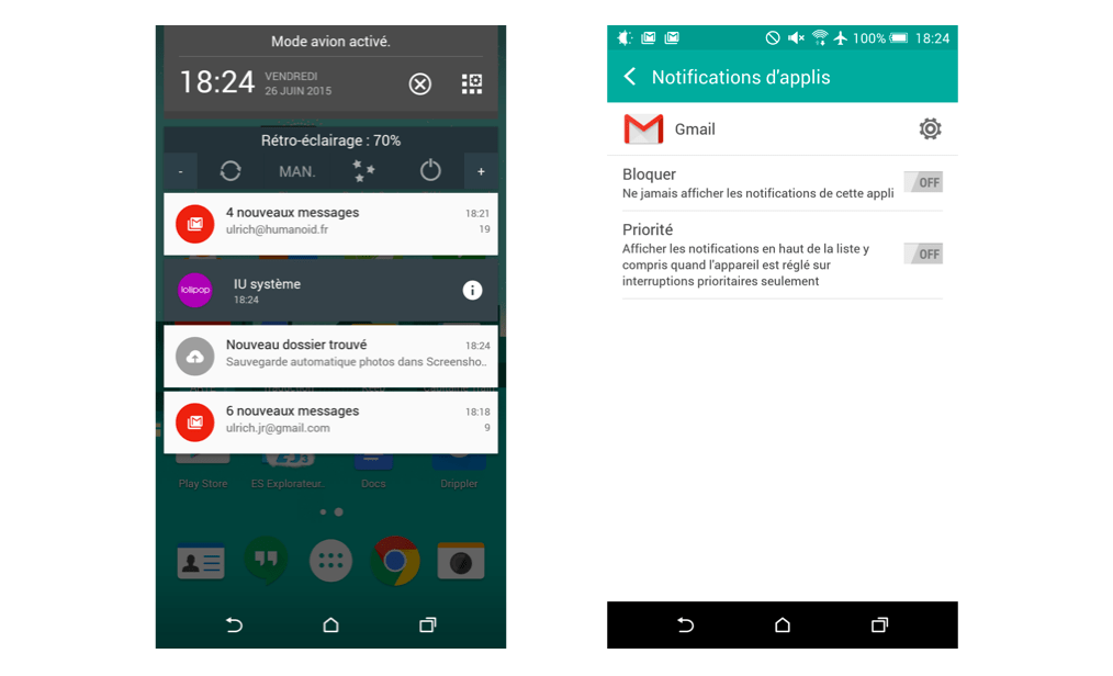 Tuto : Comment bloquer les notifications indésirables sur Android Lollipop et KitKat ?
