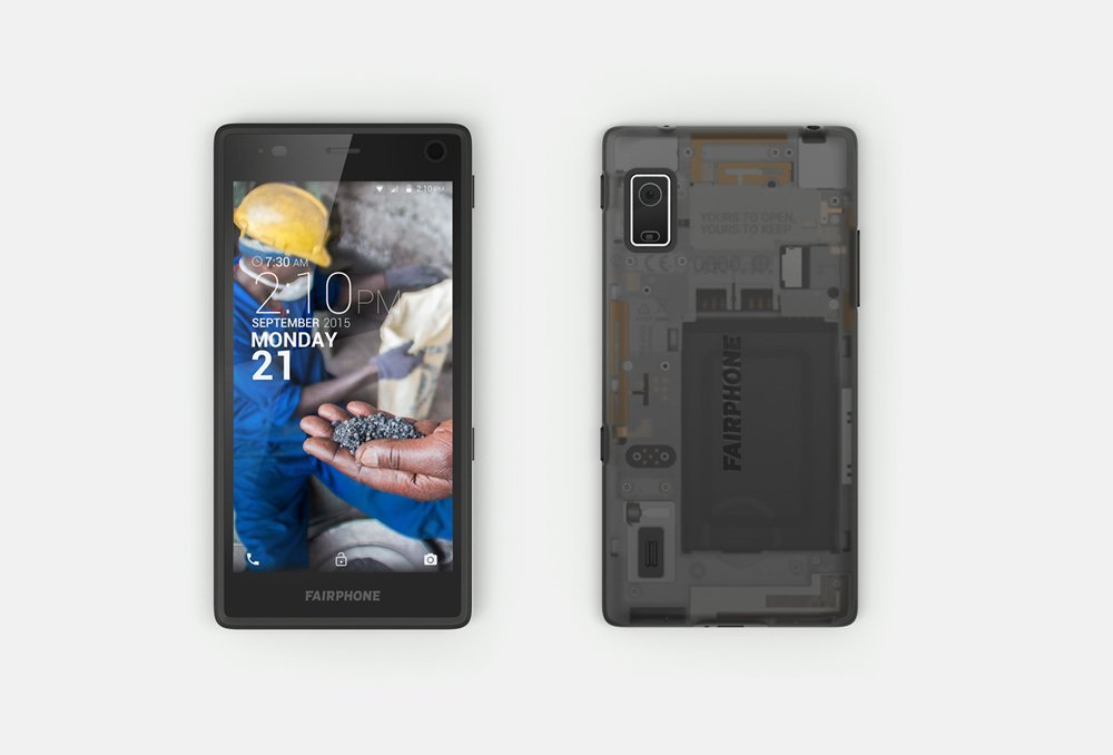 Le Fairphone 2 est officiel et a un petit air de projet Ara
