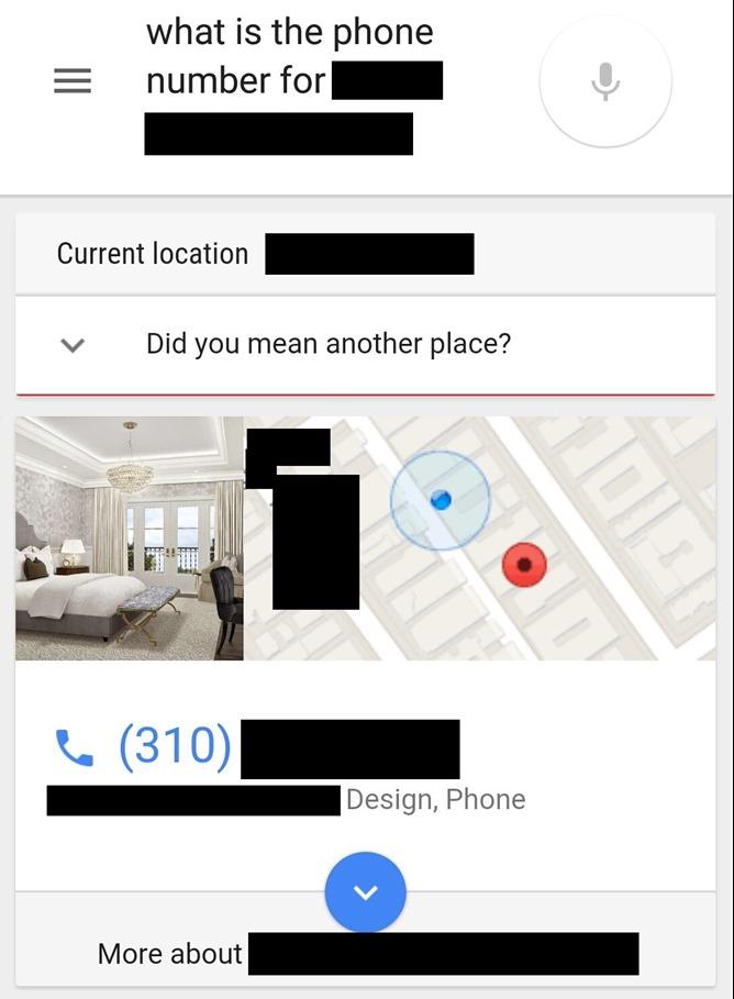 Google Location Aware Search sait tout des lieux où vous vous trouvez