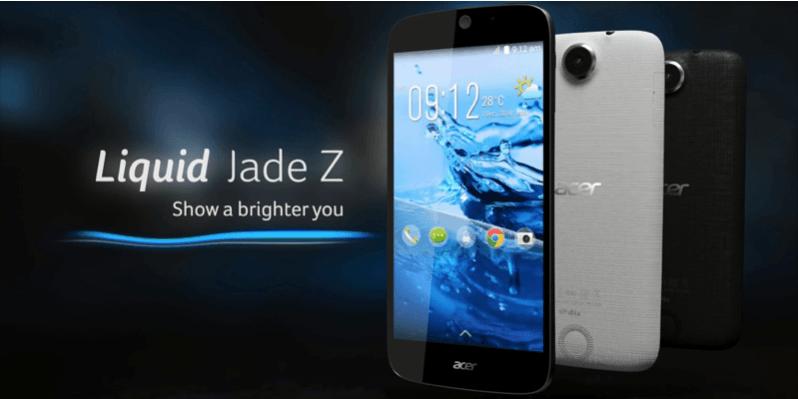 Bon plan : L'Acer Liquid Jade Z est à 149,90 euros au lieu de 199,90 euros