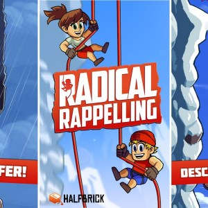 Radical Rappelling est le Jetpack Joyride de la descente en rappel