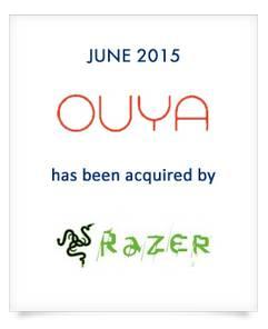 Une banque confirme l'acquisition d'Ouya par Razer