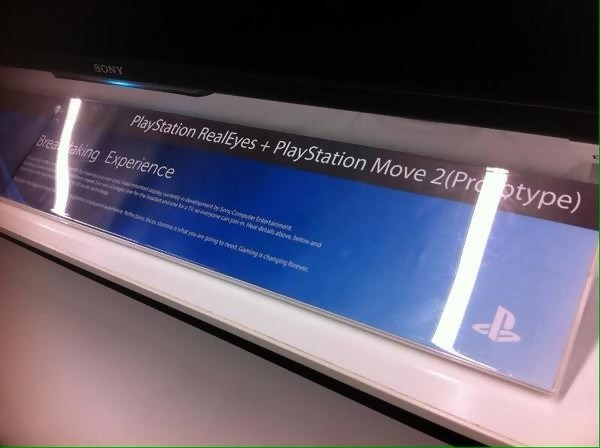 Sony : le Projet Morpheus devient RealEyes