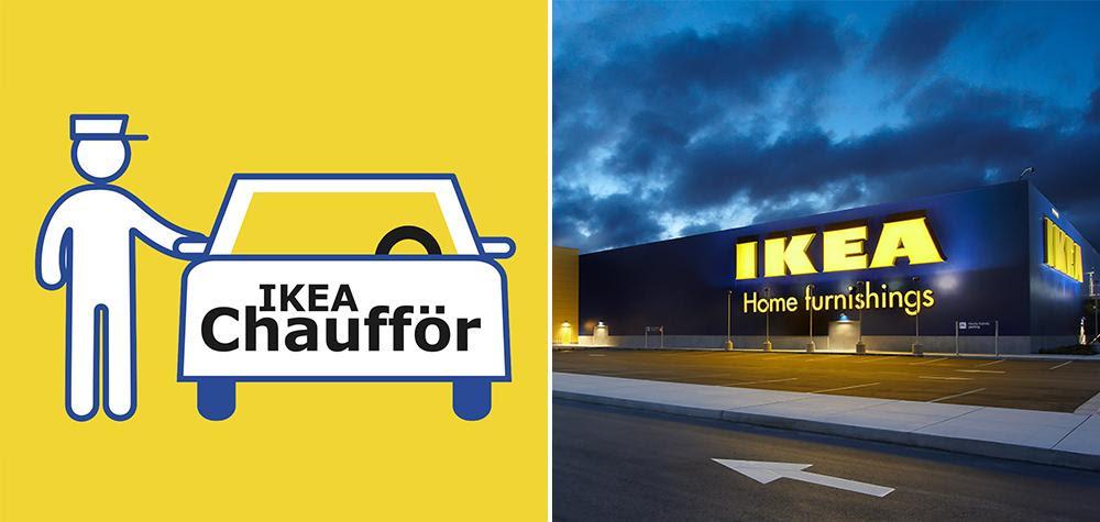 Chaufför : le service de VTC d'Ikea et SnapCar